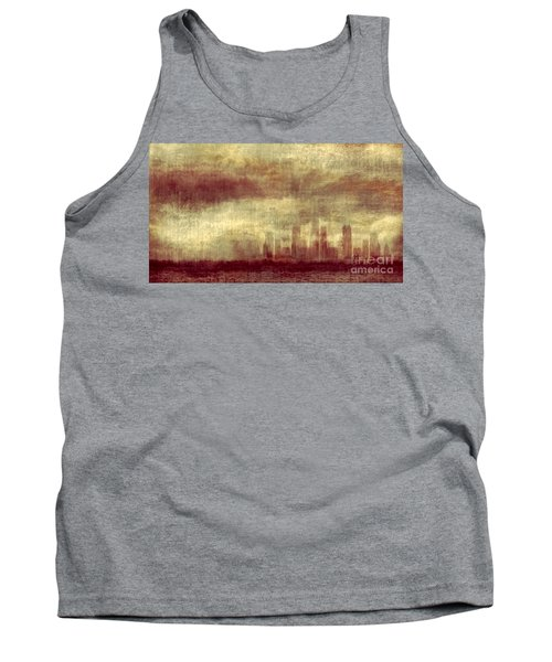 Someone To Hold You Beneath Darkened Sky Tank Top
