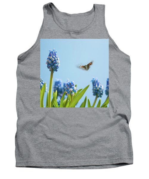 Something In The Air: Peacock Tank Top