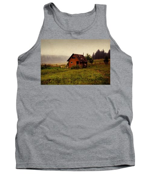 Somewhere In The Countryside. Russia Tank Top