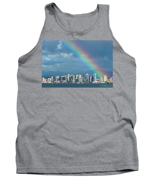 Tank Top featuring the photograph Somewhere Under by Dan McGeorge