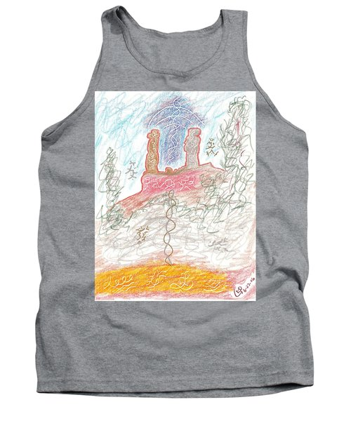 Soul Mates Tank Top by Mark David Gerson