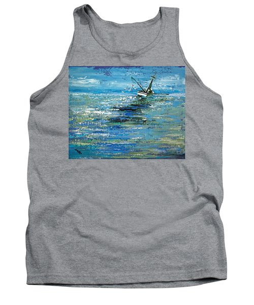 Soups On Tank Top by Suzanne McKee