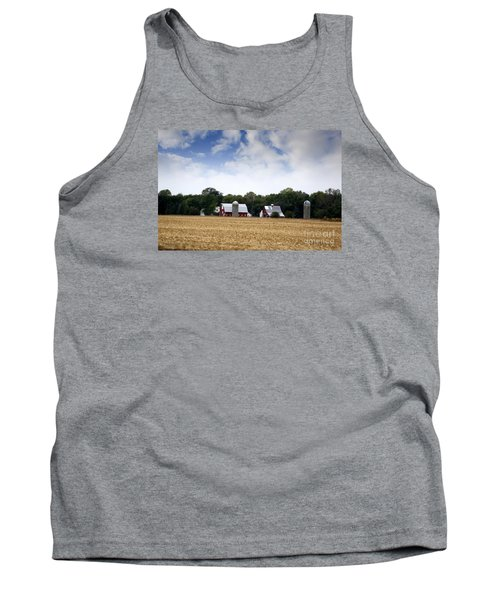 South Dakota Barn Tank Top by Yumi Johnson