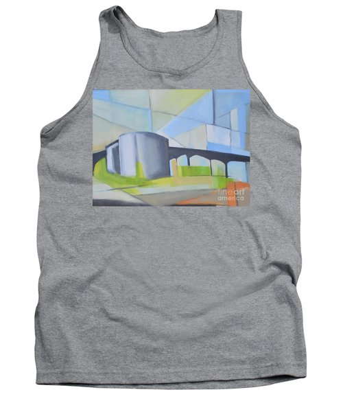 South Hackensack Tanks Tank Top by Ron Erickson