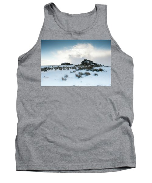 South Hessary Tor In The Snow II Tank Top