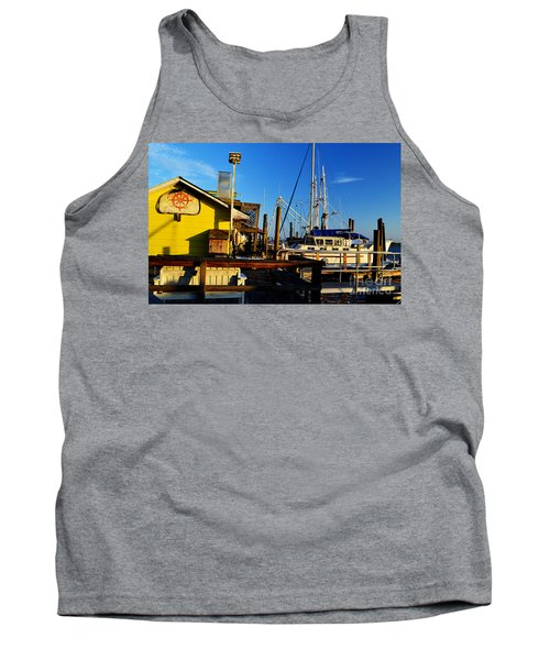 Southport Potters Seafood Pier Tank Top
