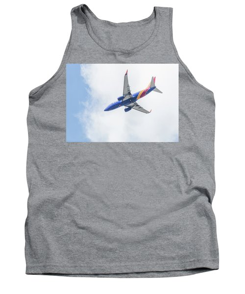 Southwest Airlines With A Heart Tank Top