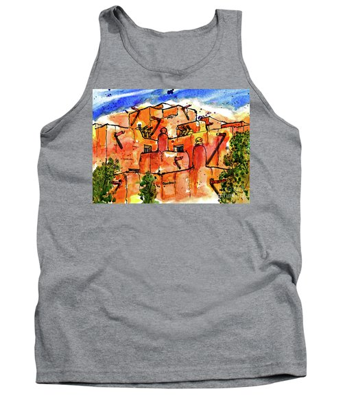 Southwestern Architecture Tank Top by Terry Banderas
