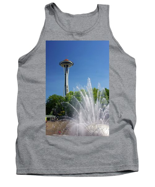 Space Needle In Seattle Tank Top