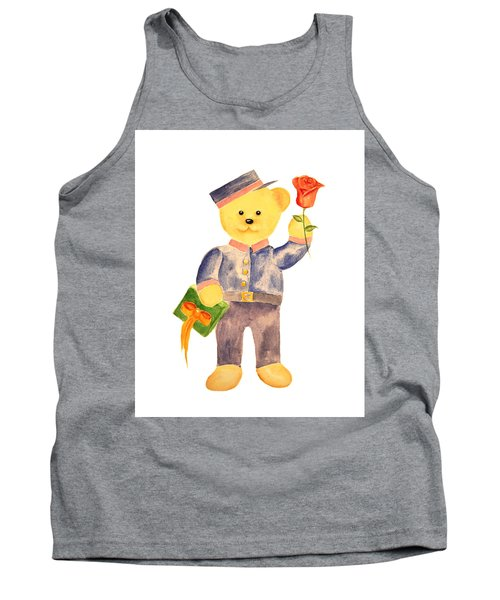 Tank Top featuring the painting Special Delivery by Elizabeth Lock