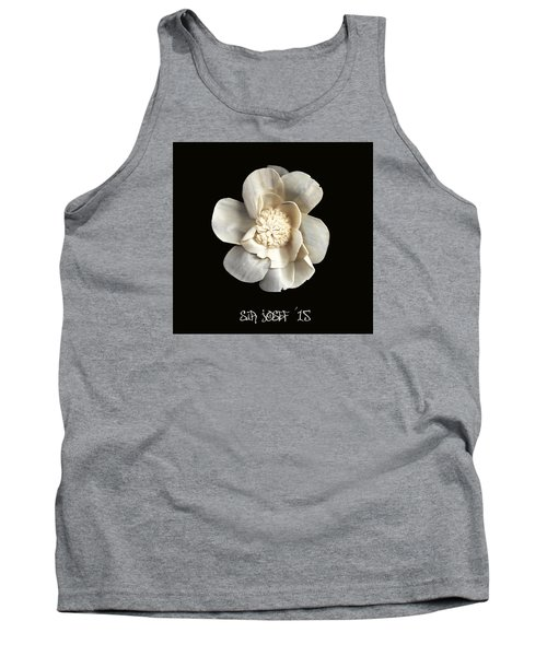 Special Magic Flower - For A Special Lady Tank Top by Sir Josef - Social Critic -  Maha Art