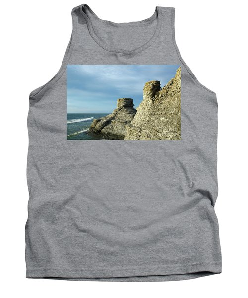 Spectacular Eroded Cliffs  Tank Top
