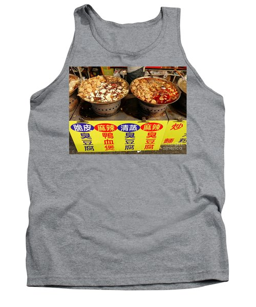 Tank Top featuring the photograph Spicy And Herbal Hot Pot Food by Yali Shi