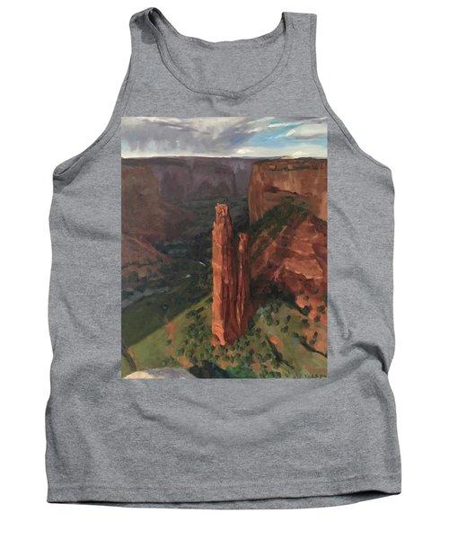 Spider Rock, Canyon De Chelly Tank Top
