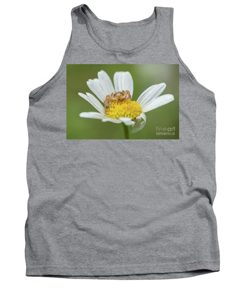 Spider Waits For It's Prey Tank Top