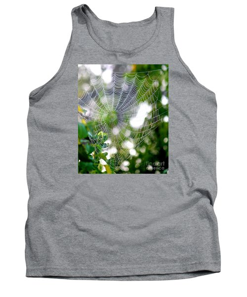 Spider Web 2 Tank Top
