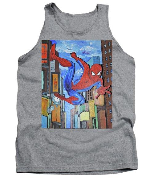 Spiderman Swings Tank Top