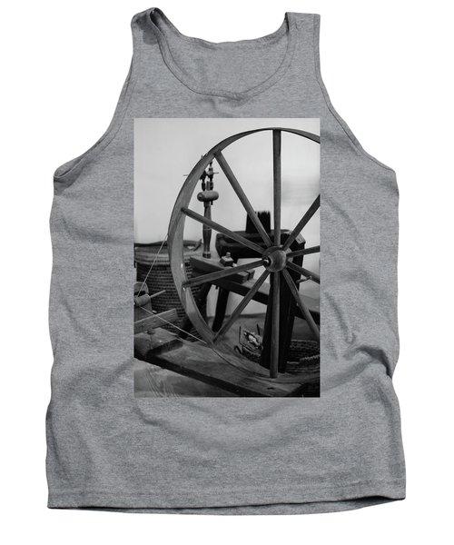 Spinning Wheel At Mount Vernon Tank Top