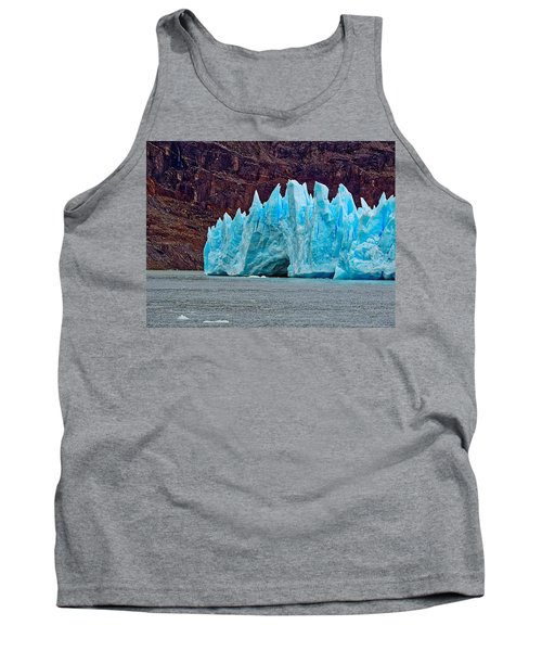 Spires Of Blue Tank Top
