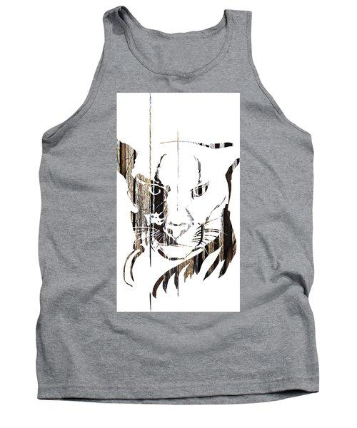 Spirit Animal . Cougar Tank Top