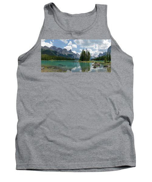 Spirit Island And The Hall Of The Gods Tank Top