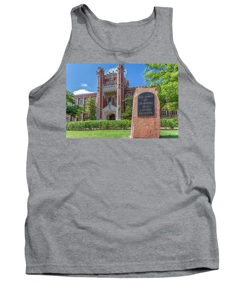 Spirit Of Learning Statue At The University Of Oklahoma  Tank Top
