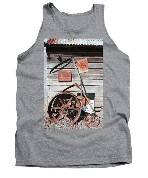 Spitting Prohibited Tank Top by Ivana Westin