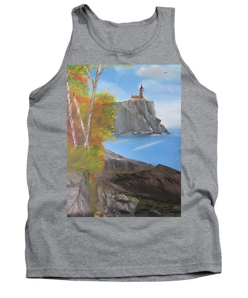 Split Rock Lighthouse Minnesota Tank Top