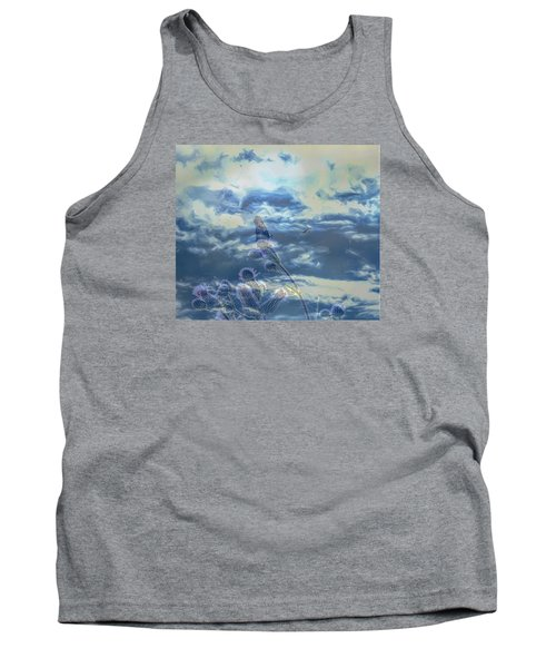 Tank Top featuring the photograph Spooky by Leif Sohlman