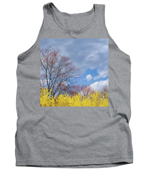 Tank Top featuring the photograph Spring 2017 Square by Bill Wakeley