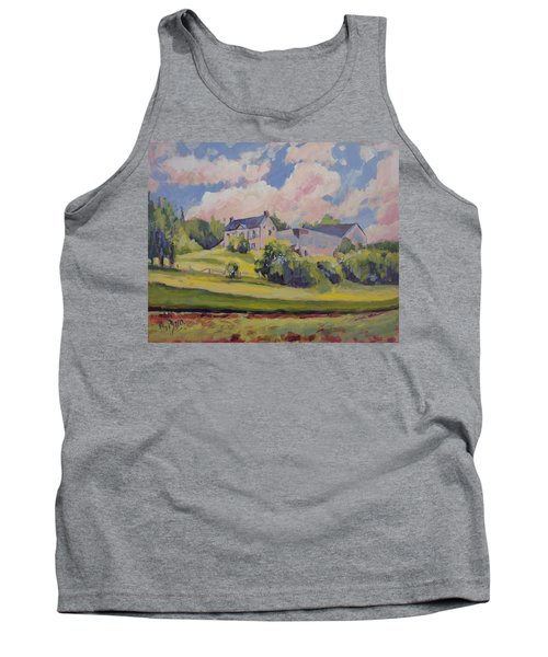 Spring At The Hoeve Zonneberg Maastricht Tank Top by Nop Briex