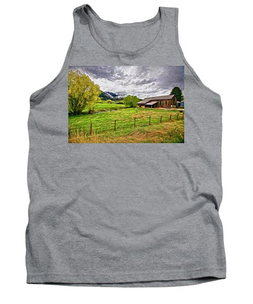 Spring Coming To Life Tank Top