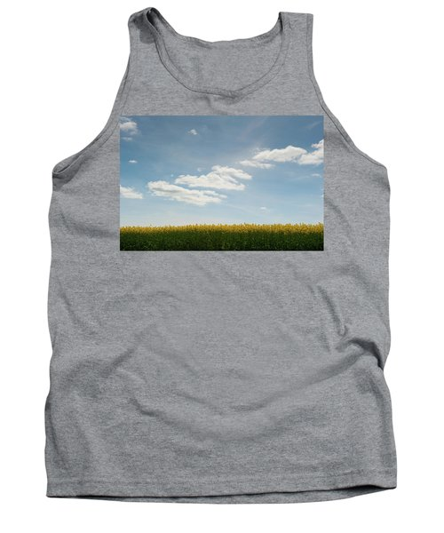 Spring Day Clouds Tank Top