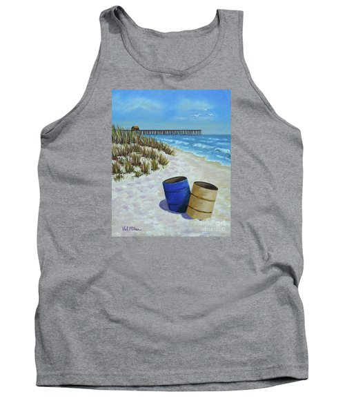 Spring Day On The Beach Tank Top
