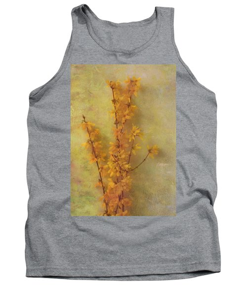 Spring Forsythia Tank Top
