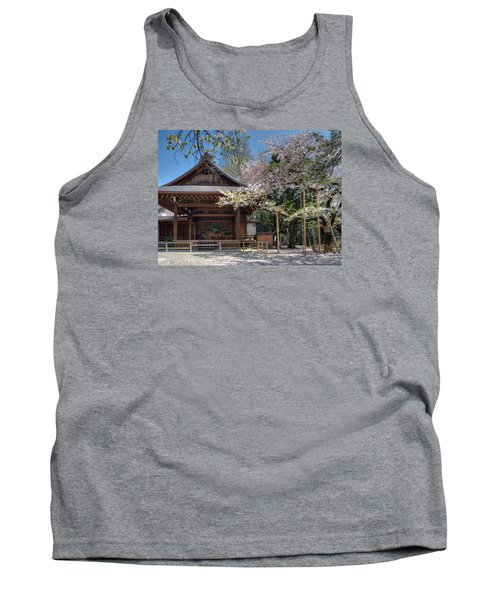 Spring In Edo Tank Top by Alan Toepfer
