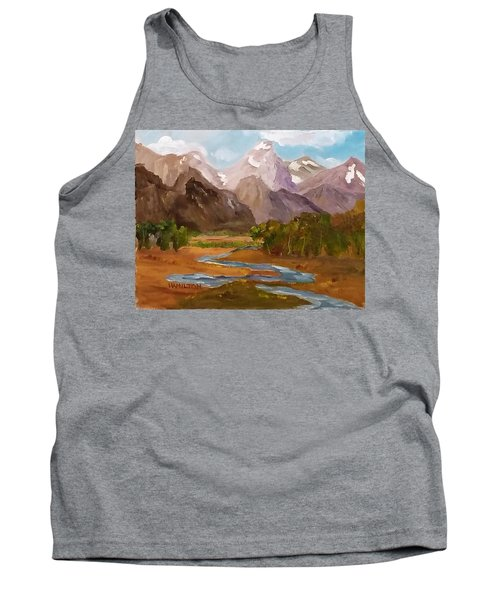 Spring In The Tetons Tank Top