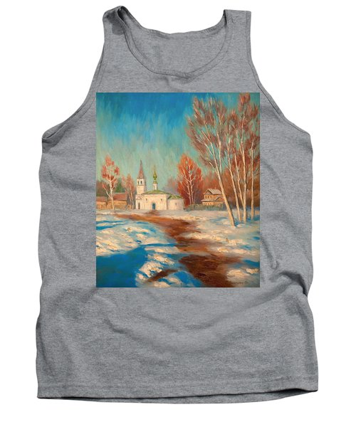 Spring Landscape Tank Top