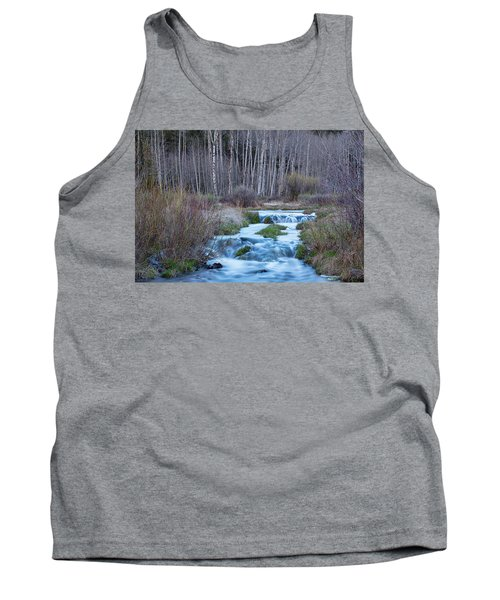 Spring Melt Off Flowing Down From Bonanza Tank Top by James BO Insogna