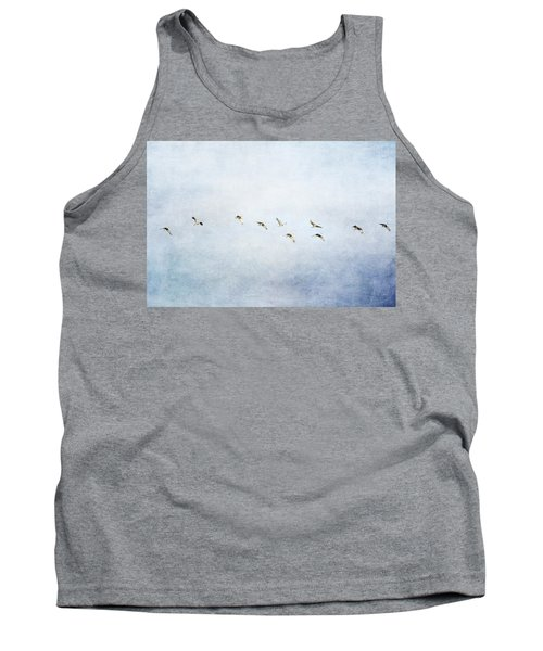 Spring Migration 2 - Textured Tank Top