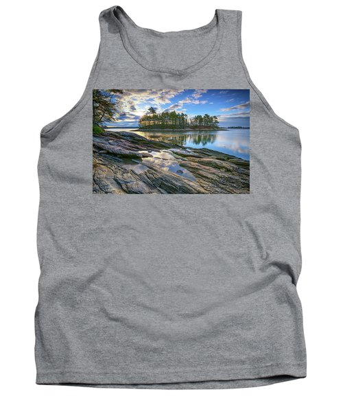 Tank Top featuring the photograph Spring Morning At Wolfe's Neck Woods by Rick Berk