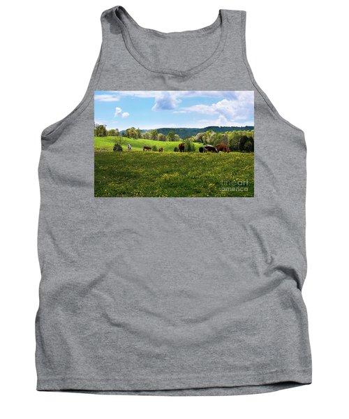 Spring Pastureland Tank Top