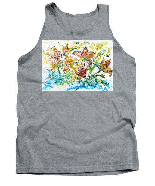 Spring Rhapsody Tank Top by Jasna Dragun