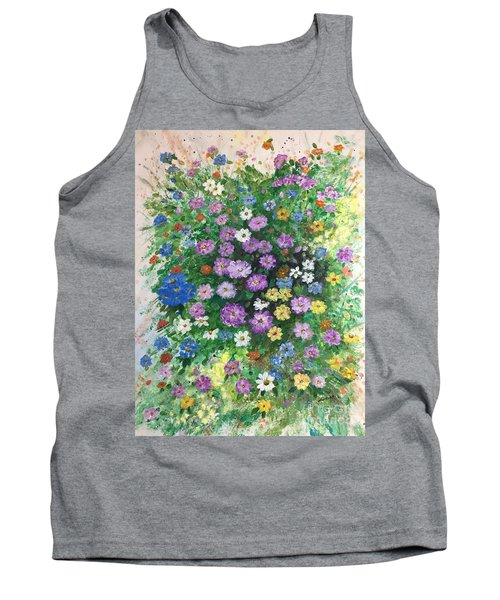 Spring Splendor Tank Top by Lucia Grilletto