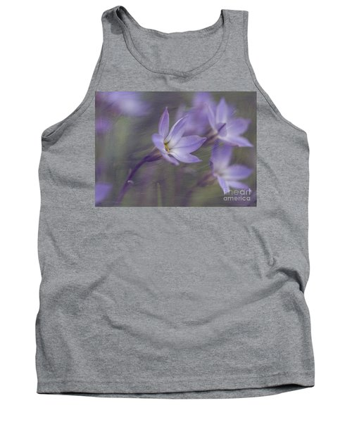 Spring Starflower Tank Top by Eva Lechner