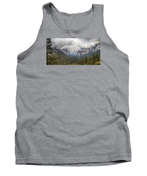 Tank Top featuring the photograph Spring Storm Yosemite by Harold Rau