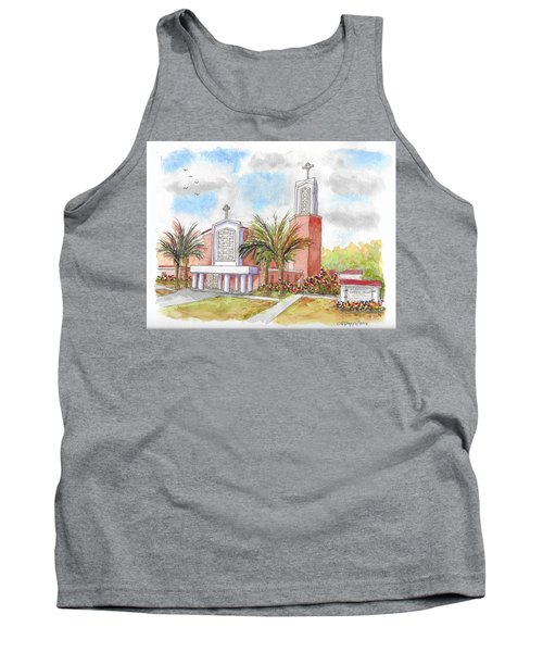 St. Anthony Of Padua Catholic Chuch, Manteca, California Tank Top