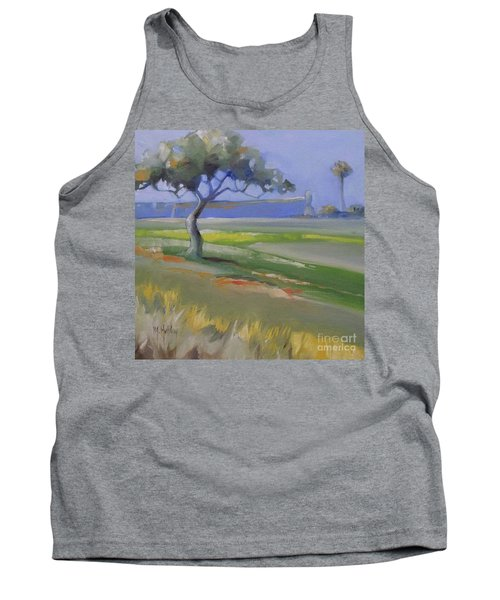St. Augustine Spanish Castillo Tank Top by Mary Hubley