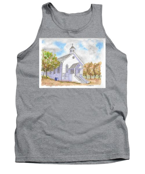 St. Bernard's Catholic Church, Volcano, California Tank Top