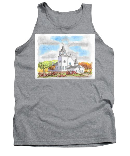 St. Boniface Catholic Church, Walhalla, North Dakota Tank Top